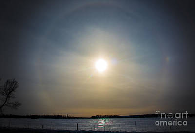 Photograph - Ring Around The Sun by Cheryl Baxter