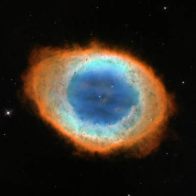 Ring Nebula M57 Art Print by Nasa/esa/hubble Heritage Team/stsci/aura