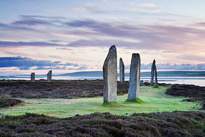 Photograph - Ring Of Brodgar, Orkney, Scotland, Uk by Derek Croucher