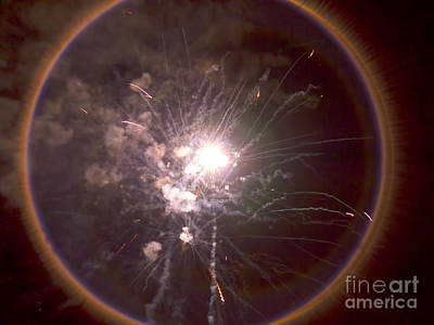 Photograph - Ring Of Fire by Brenda Kean