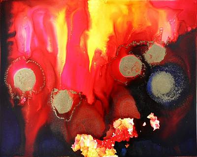 Painting - Ring Of Fire by Tara Moorman