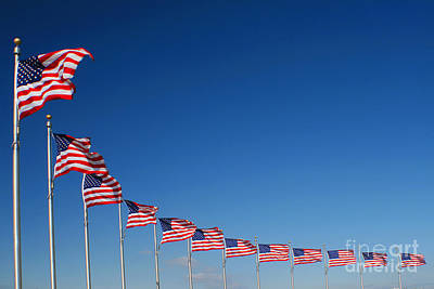 Photograph - Ring Of Flags by Richard Lynch