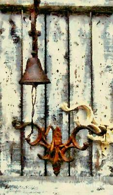 Ring The Bell Art Print by Janine Riley