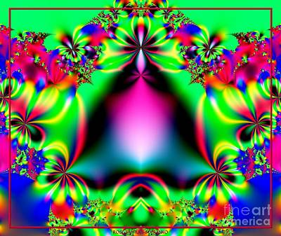 Royalty-Free and Rights-Managed Images - Ringing in Spring Fractal 145 by Rose Santuci-Sofranko