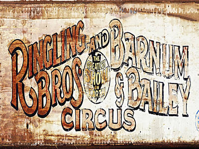 Ringling Brothers And Barnum And Bailey Circus Art Print by Skip Nall