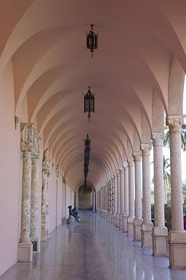 Photograph - Ringling Museum Of Art Corridor by Laurie Perry