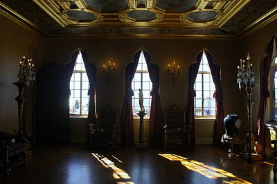Photograph - Ringling's Ballroom by Laurie Perry