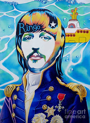 Ringo Print by Debbie  Diamond