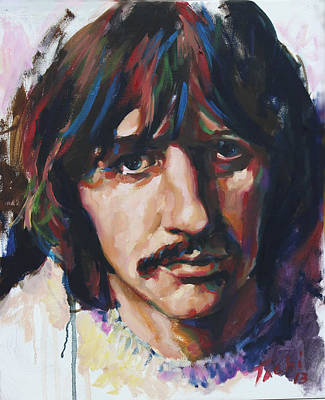 Ringo Art Print by Tachi Pintor