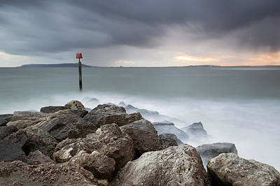 Ringstead Bay Art Print by Chris Frost