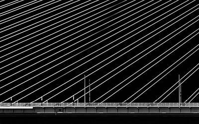 Optical Photograph - Rio Bridge by Gianni Giatilis