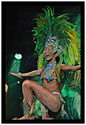 Rio Dancer I B  Art Print