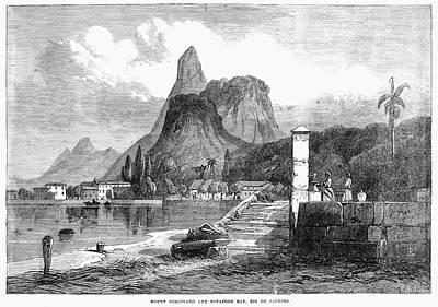 Rio De Janeiro, 1864 Art Print