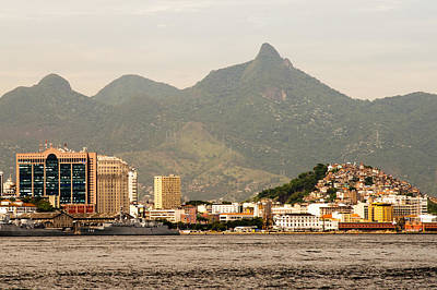 Photograph - Rio De Janeiro As Seen From A Boat On Baia De Guanabara by Celso Diniz