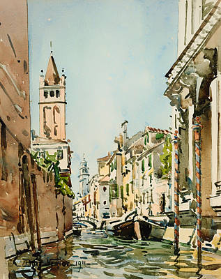 Rio Di San Barnaba - Venice Art Print by Mountain Dreams