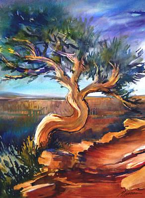 Grande Painting - Rio Grande Dance by Melissa Harris