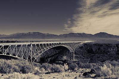 Photograph - Rio Grande Gorge Bridge by Jeanne Hoadley