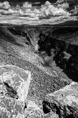 Ute Photograph - Rio Grande Gorge - Taos New Mexico by Silvio Ligutti