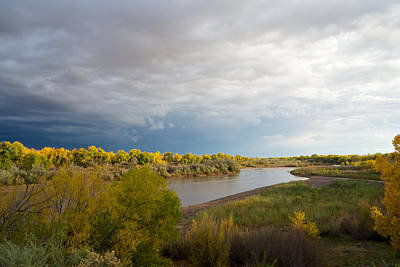 Photograph - Rio Grande In New Mexico by Mary Lee Dereske