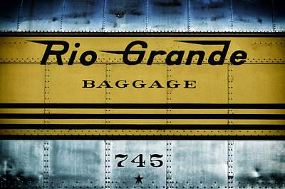 Colorado Railroad Museum Photograph - Rio Grande Ride'n The Rails by Carter Jones