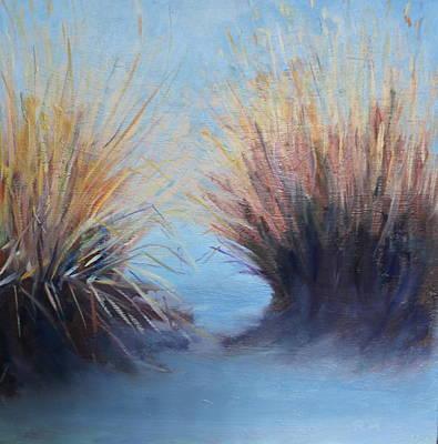 Painting - Rio Grande by Rosemarie Hakim