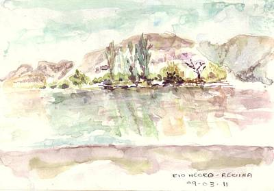 Painting - Rio Negro by David  Hawkins
