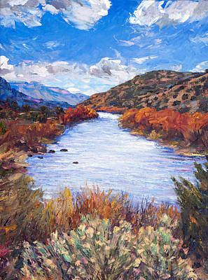 Rio River Bend Art Print by Steven Boone