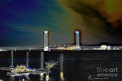 Rio Vista Bridge Art Print
