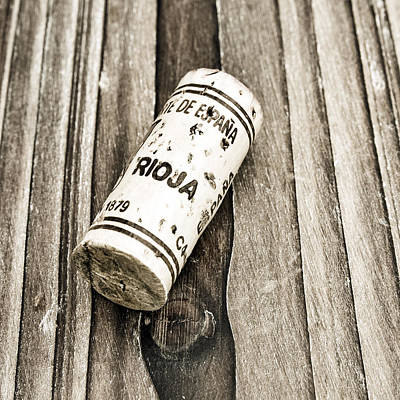 Photograph - Rioja Wine Cork by Frank Tschakert