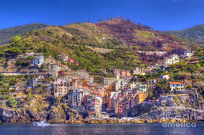 Photograph - Riomaggiore 4 by Rod Jones