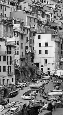 Art Print featuring the photograph Riomaggiore - Cinque Terre Italy by Carl Amoth