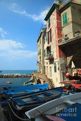 Cinque Terre Photograph - Riomaggiore - Cinque Terre by Matteo Colombo
