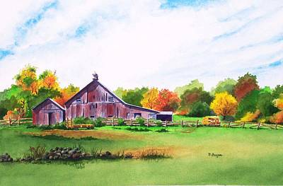 Rip Manning's Barn Art Print