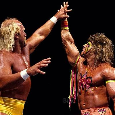 Wrestling Photograph - Rip To The Ultimate Warrior!! When I by Slightly Stoopid
