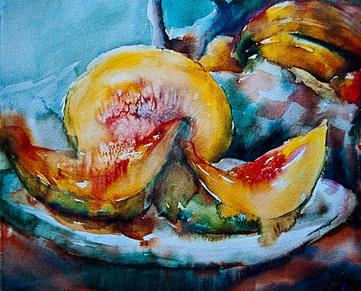 Ripe And Juicy Art Print by Jani Freimann
