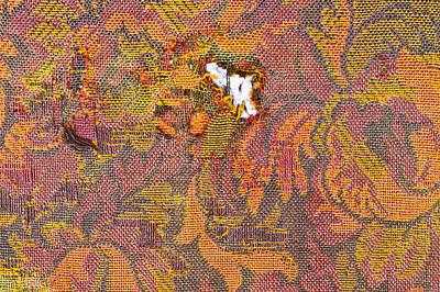 Ripped Upholstery Art Print