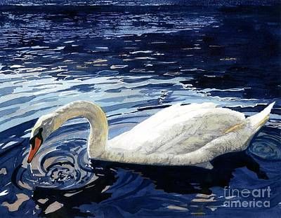 Painting - Ripple Effect by Barbara Jewell