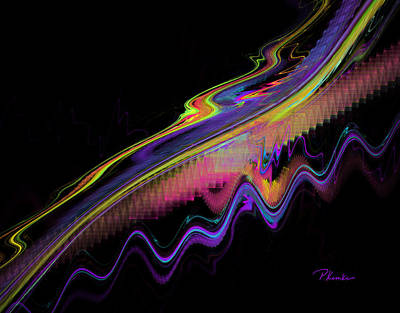 Digital Art - Ripple In Time by Patricia Kemke
