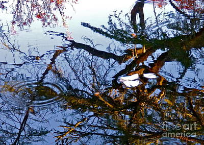 Photograph - Rippled Reflections by Jean Wright