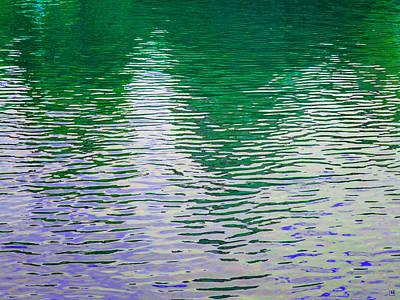 Rippled Reflections Art Print