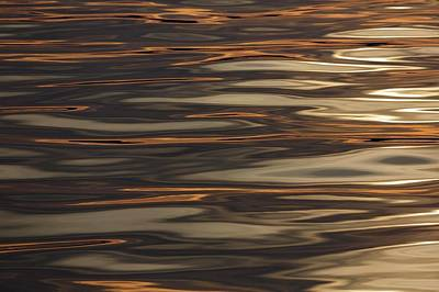 Haida Gwaii Photograph - Rippled Water Off Moresby Island by Macduff Everton