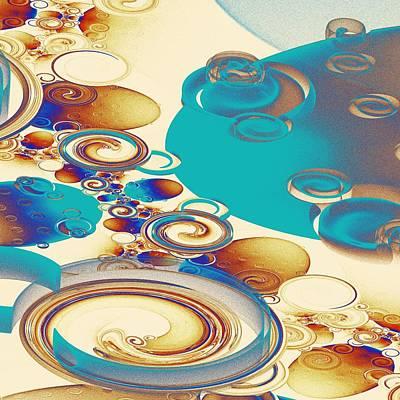 Digital Art - Ripples by Anastasiya Malakhova