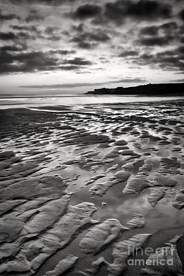 Ripples In The Sand Print by Ray Pritchard