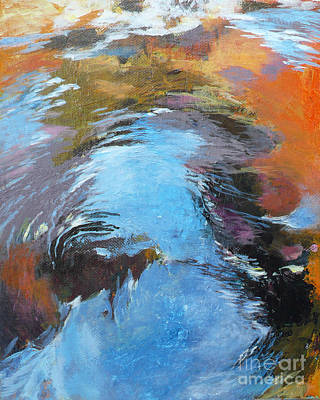 Painting - Ripples No.9 by Melody Cleary
