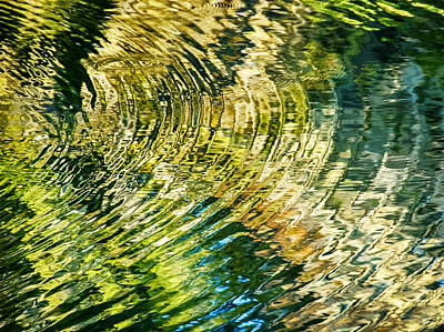 Photograph - Ripples Of October by Carolyn Marshall