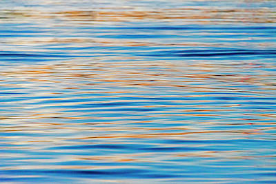 Large Format Photograph - Ripples Of Water, Banjarmasin by Keren Su