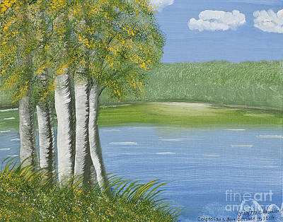 Painting - Ripples Of Water by Brigitte C Robinson