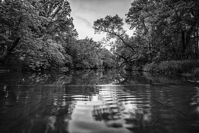 Water Filter Photograph - Ripples Through Life by CJ Schmit