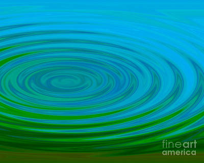 Digital Art - Rippling Pond by Kristi Kruse