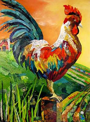Rise And Shine Art Print by Kathy Fitzgerald